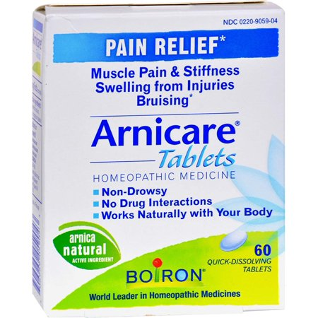 Arnicare Pain Relief 60 Tabs, Boiron By Boiron