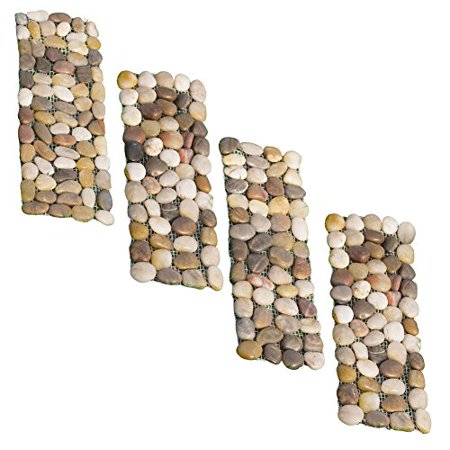 Stone Garden Border Path Mats Set Of 4 Walmart Com
