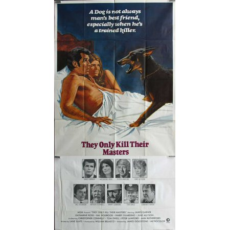 They Only Kill Their Masters Poster Movie B  27X40