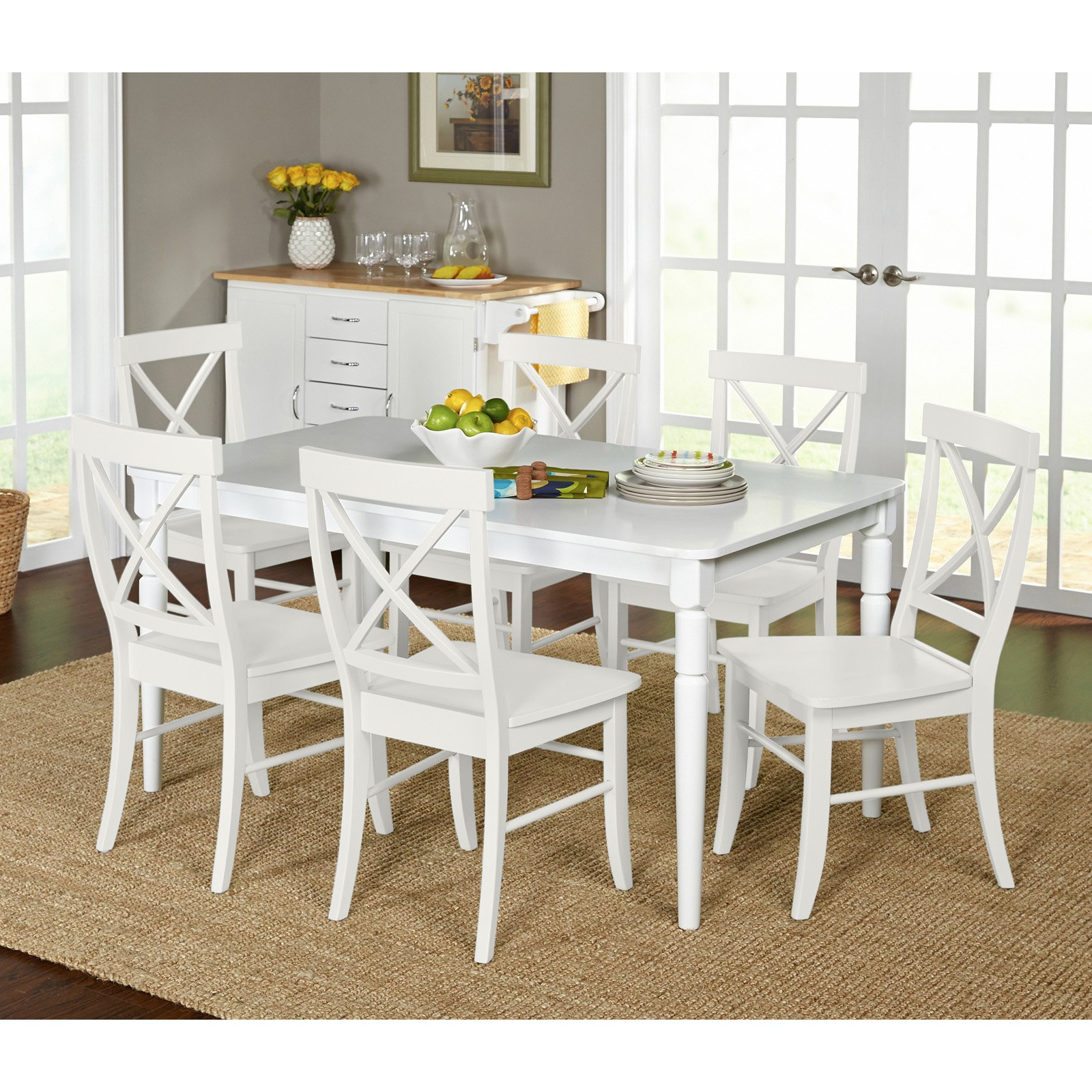 Target Marketing Systems Albury 7 Piece Dining Table Set   Walmart.com