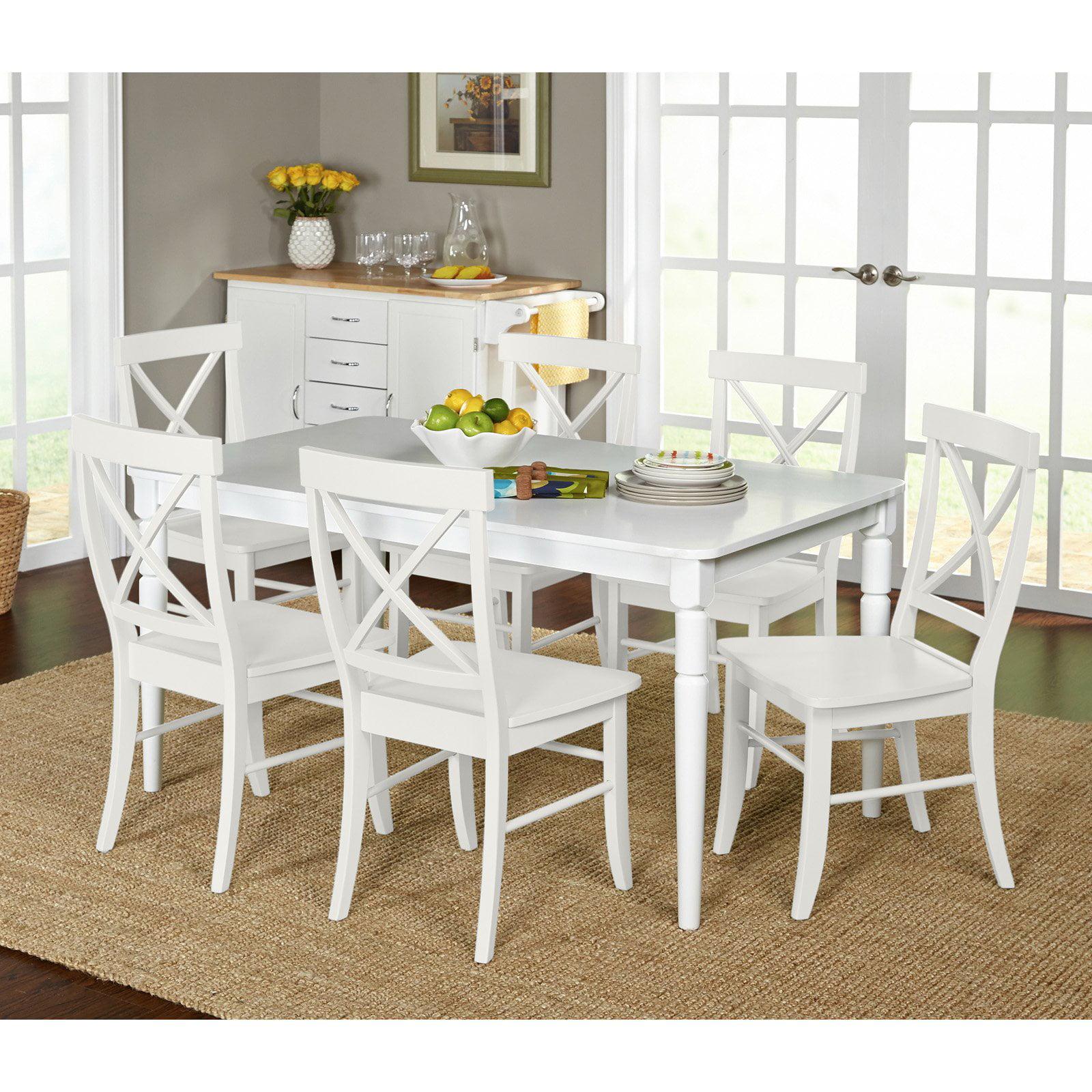 Target Marketing Systems Albury 7 Piece Dining Table Set Walmart Com
