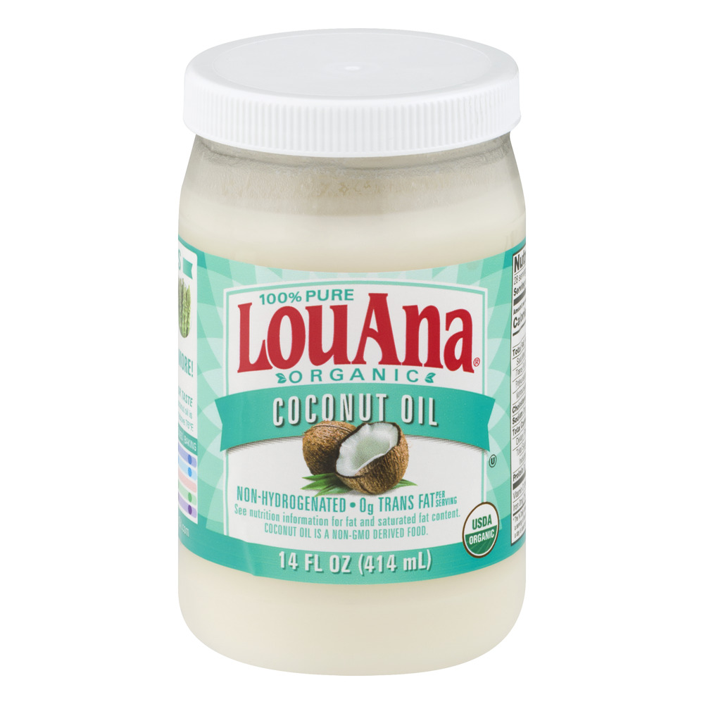 How is louana coconut oil processed