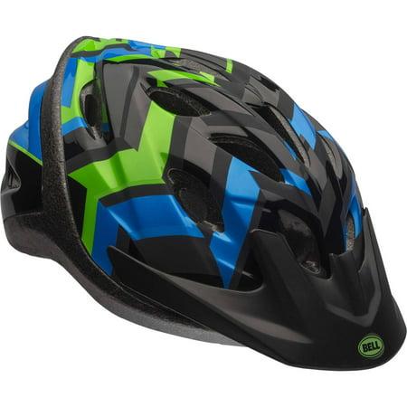 Bell Axle Shifter Bike Helmet, Black, Youth 8+ (54-58cm)
