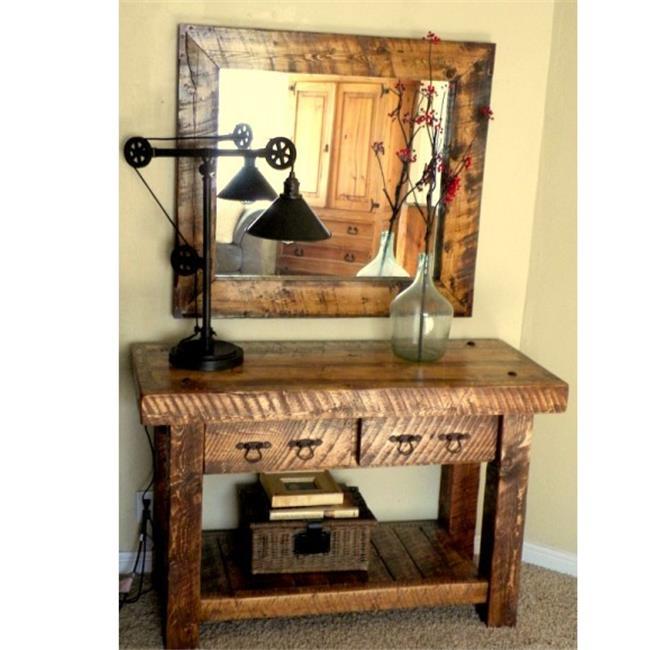 Weathered Wood Sig Ww Stbl Sofa Table 50 X 19 X33 Inch Walmartcom