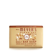 Mrs. Meyer's Clean Day Bar Soap, Oat Blossom Scent, 5.3 Ounce Bar