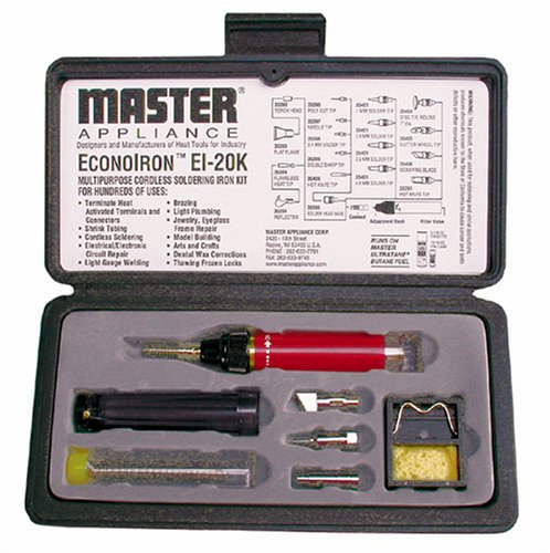 Master Appliance EI-20K 4 In 1 Heat Tool Kit