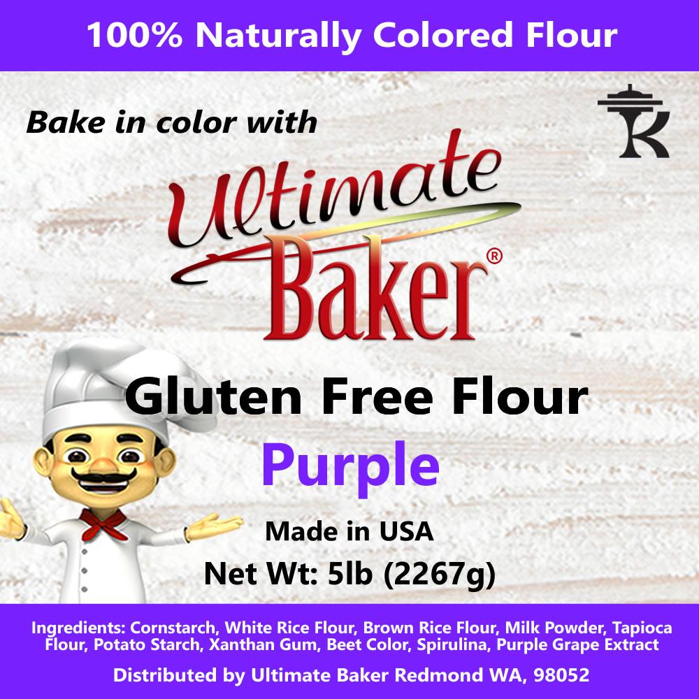 Ultimate Baker Paleo Baking Flour Purple (1x5lb)