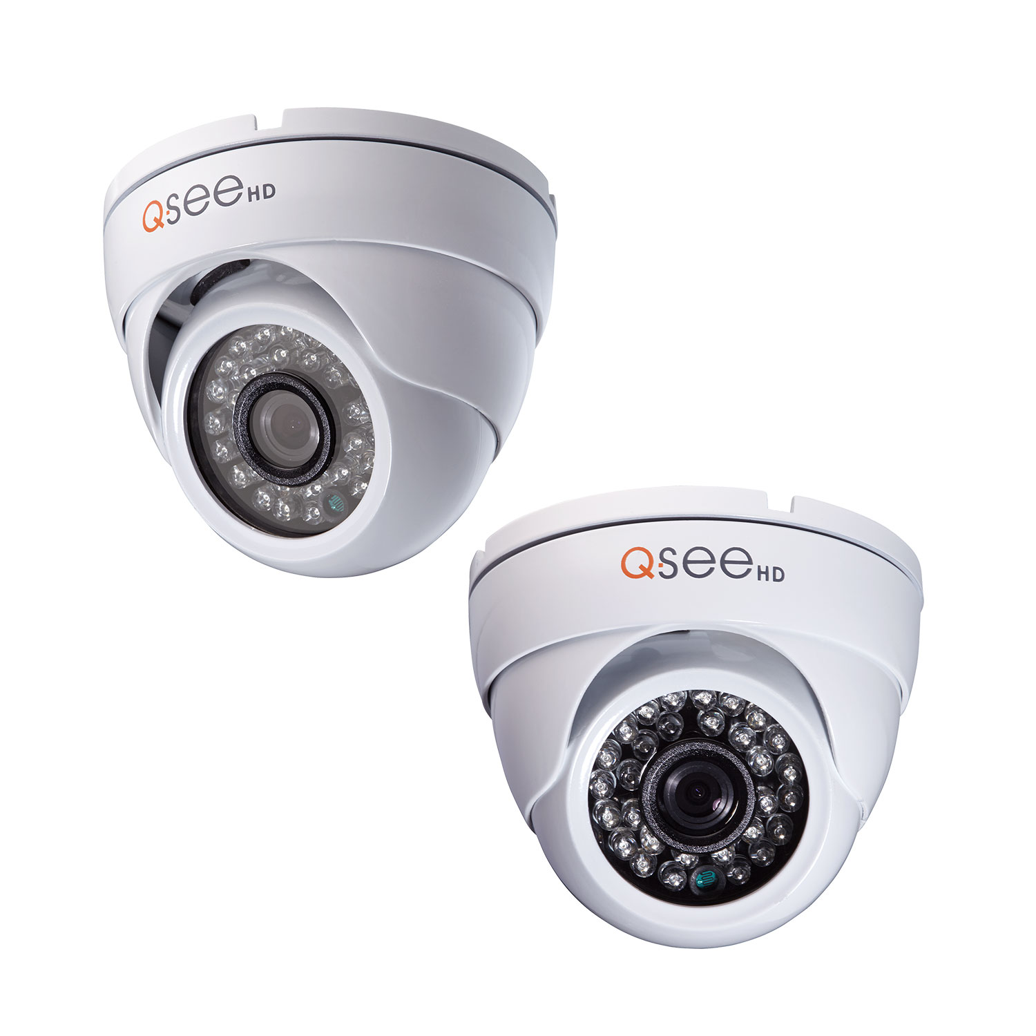 Q-See 720P Analog HD Dome Security Camera 2 Pack