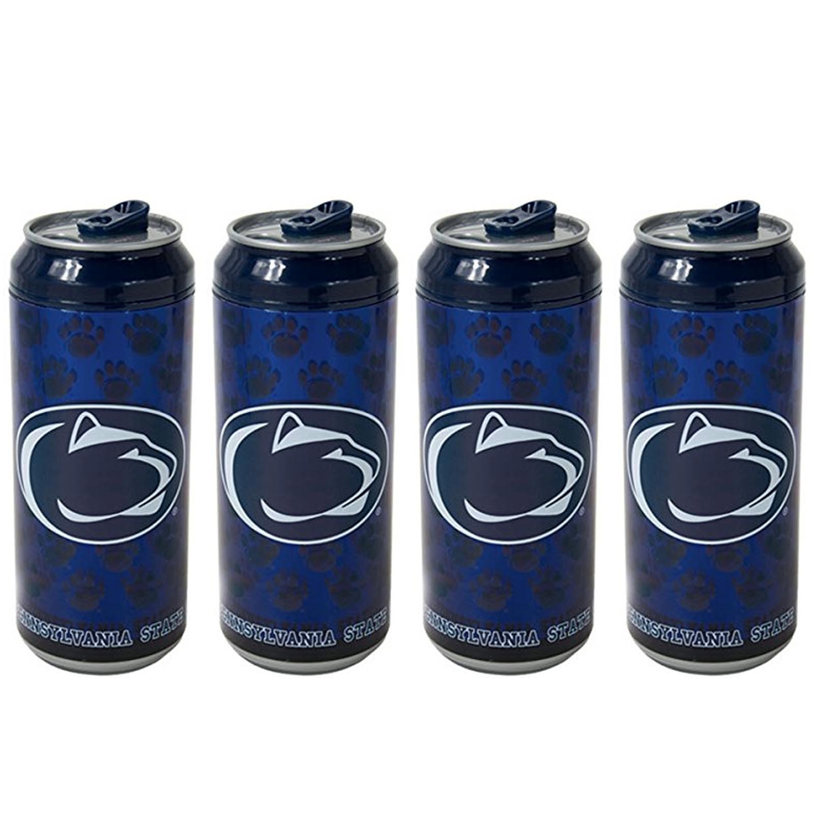 Cool Gear 16 Ounce Penn State Nittany Lions Tailgate Chiller Can (4 Pack)