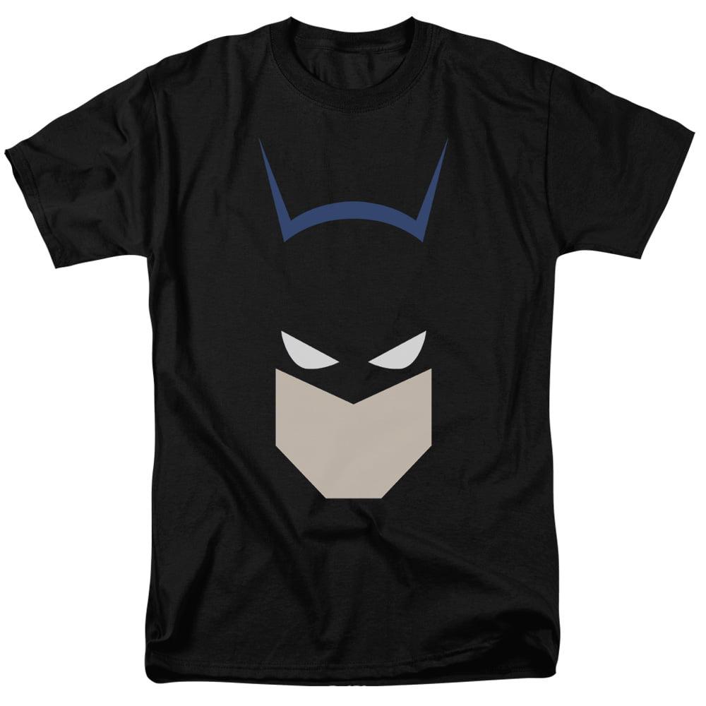 Batman  Bat Head S S Adult 18 1 Black Bm2429 by Trevco