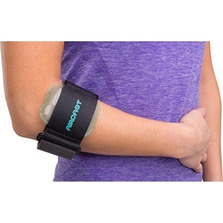 Aircast Pneumatic Armband: Tennis/Golfers Elbow Support Strap,