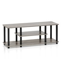 Furinno Turn-N-Tube No Tool 3-Tier Entertainment TV Stands, Multiple Colors