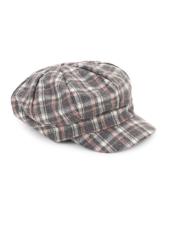 Textured Newsboy Cap