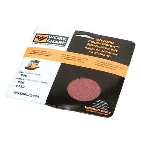 Abrasive Kit for the Work Sharp 2000