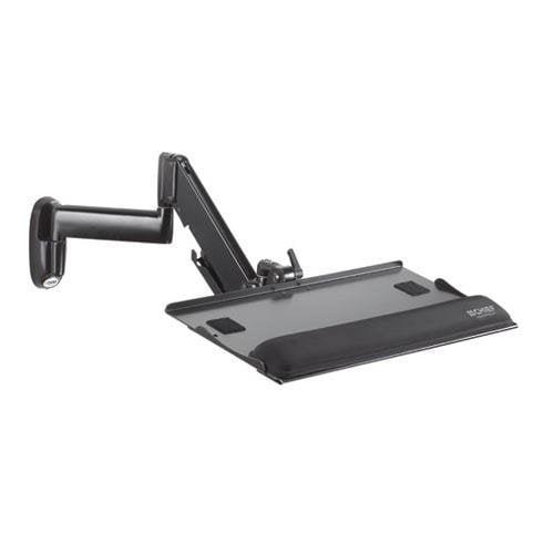 Chief KWK110B-KWK Height-Adjustable Keyboard & Mouse Tray Wall Mount