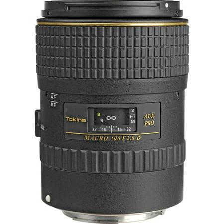 Tokina 100mm f/2.8 AT-X M100 AF Pro D Macro Autofocus Lens for Canon EOS ()