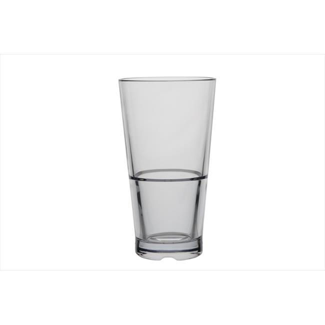 Innova Products 71014 14 oz Clear CapellaStack Tumbler - Set of 4