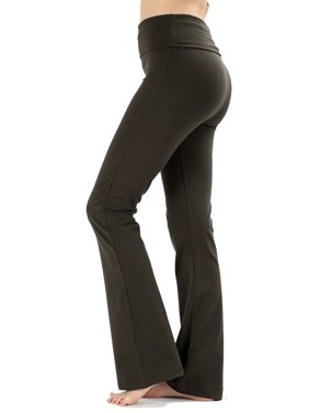 6984944cdb3 Product Image JED FASHION Women s Ultra Stretchy Fold-Over Waist Yoga Pants