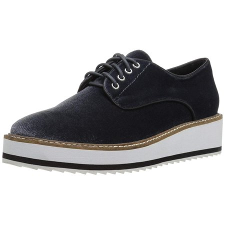 Shellys London Womens Fontain Pointed Toe Oxfords, Dark Grey, Size 10.5