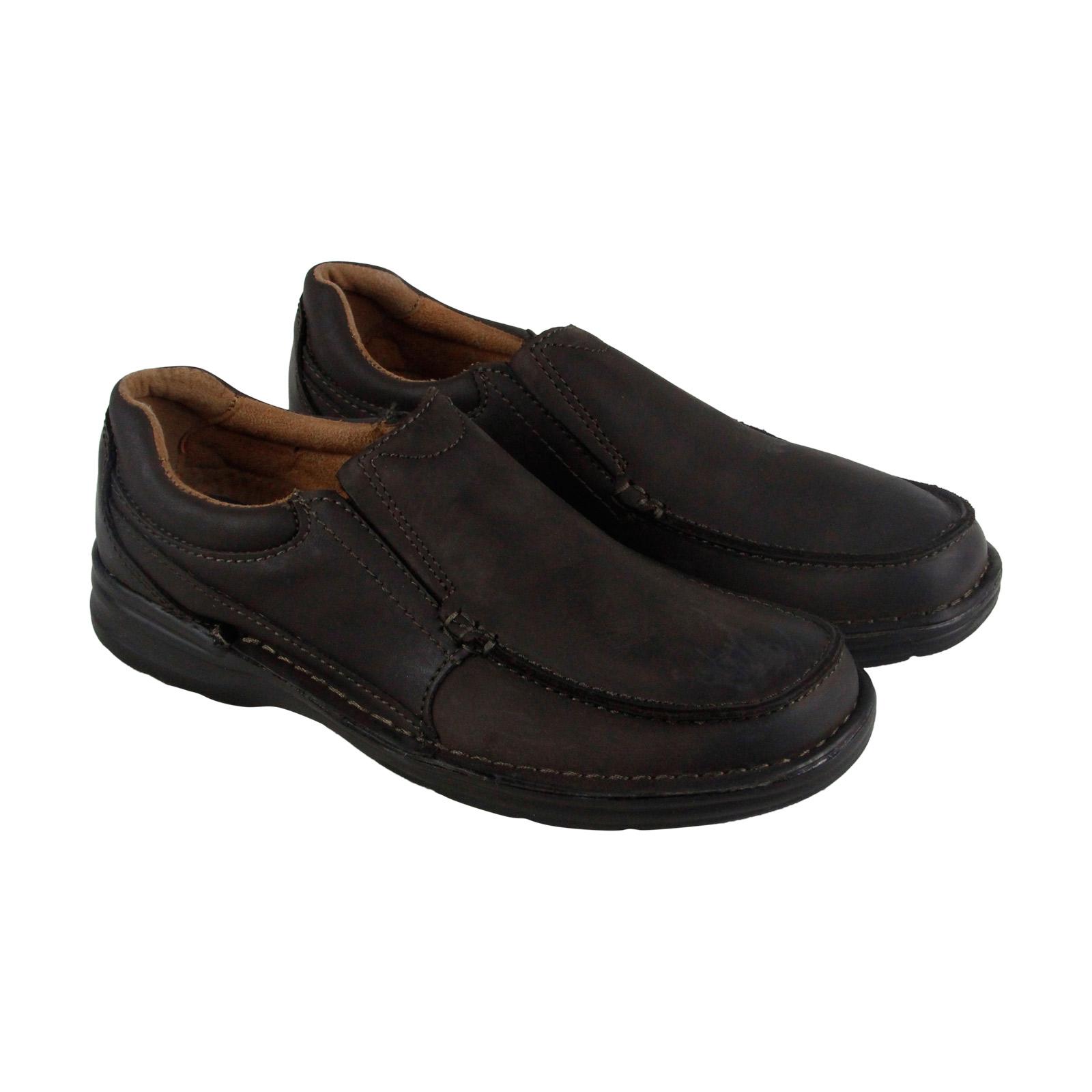 Nunn Bush Patterson Mens Brown Leather