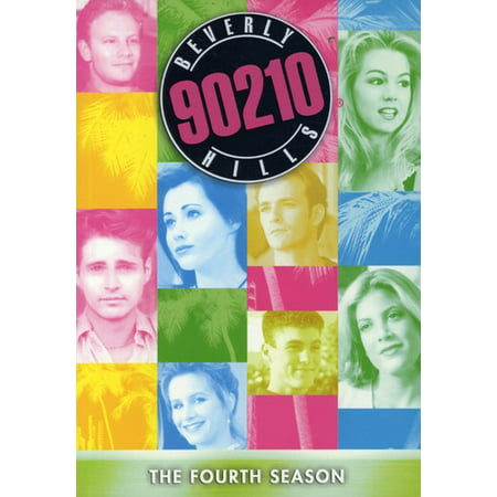 Beverly Hills 90210: Fourth Season (DVD) (Genuine Joe Four)
