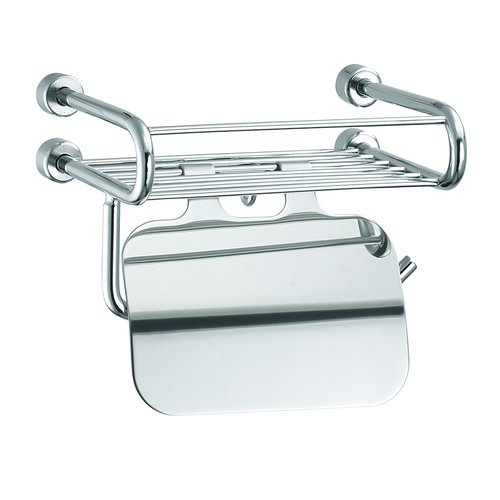 Empire Industries Tivoli Wall Mounted Soap Rack with Paper Holder and Lid