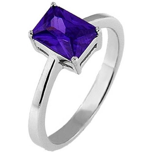 Doma Jewellery SSRZ356PR8 Sterling Silver Ring With Cubic Zirconia, Size 8