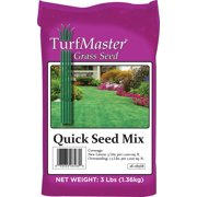 """7023229,GRASS SEED,QUICK SEED MIX """"TURFMASTER"""" Size Lb=3"""