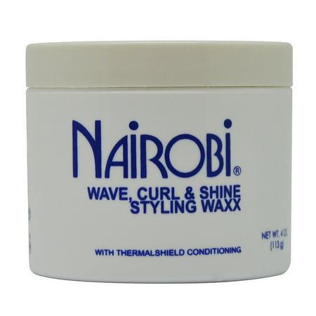 Nairobi Wave, Curl & Shine Styling Wax 4 Oz / 113 g