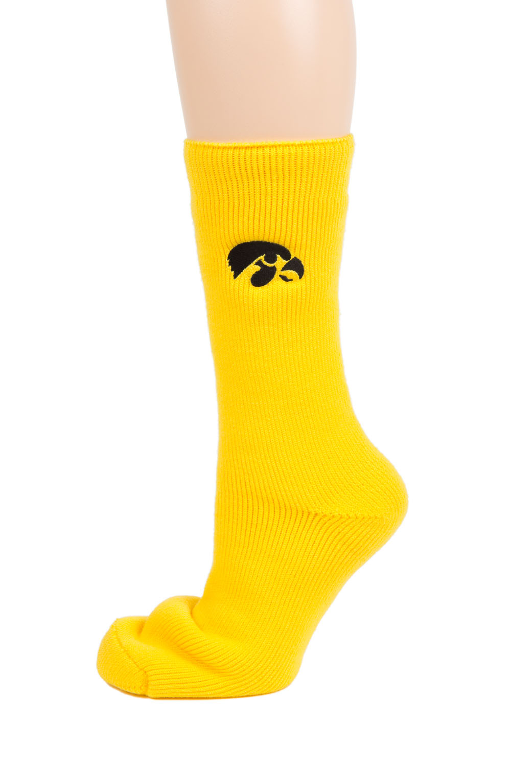 Iowa Hawkeye Gold Thermal Sock by Donegal Bay
