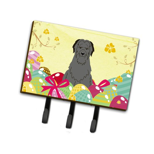 The Holiday Aisle Easter Eggs Briard Leash or Key Holder