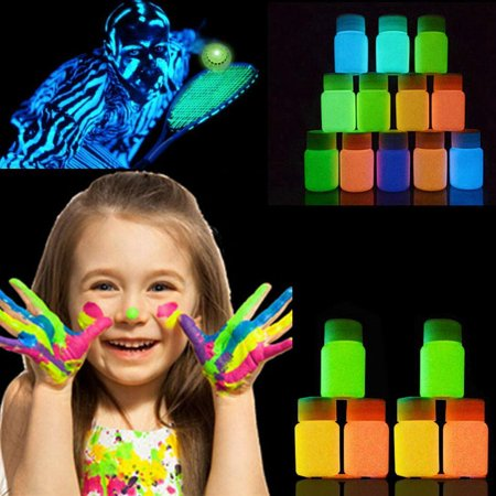 Face Body Paint Pigment  UV Glow Neon 20ml and Fluorescent Super Bright SPPYY