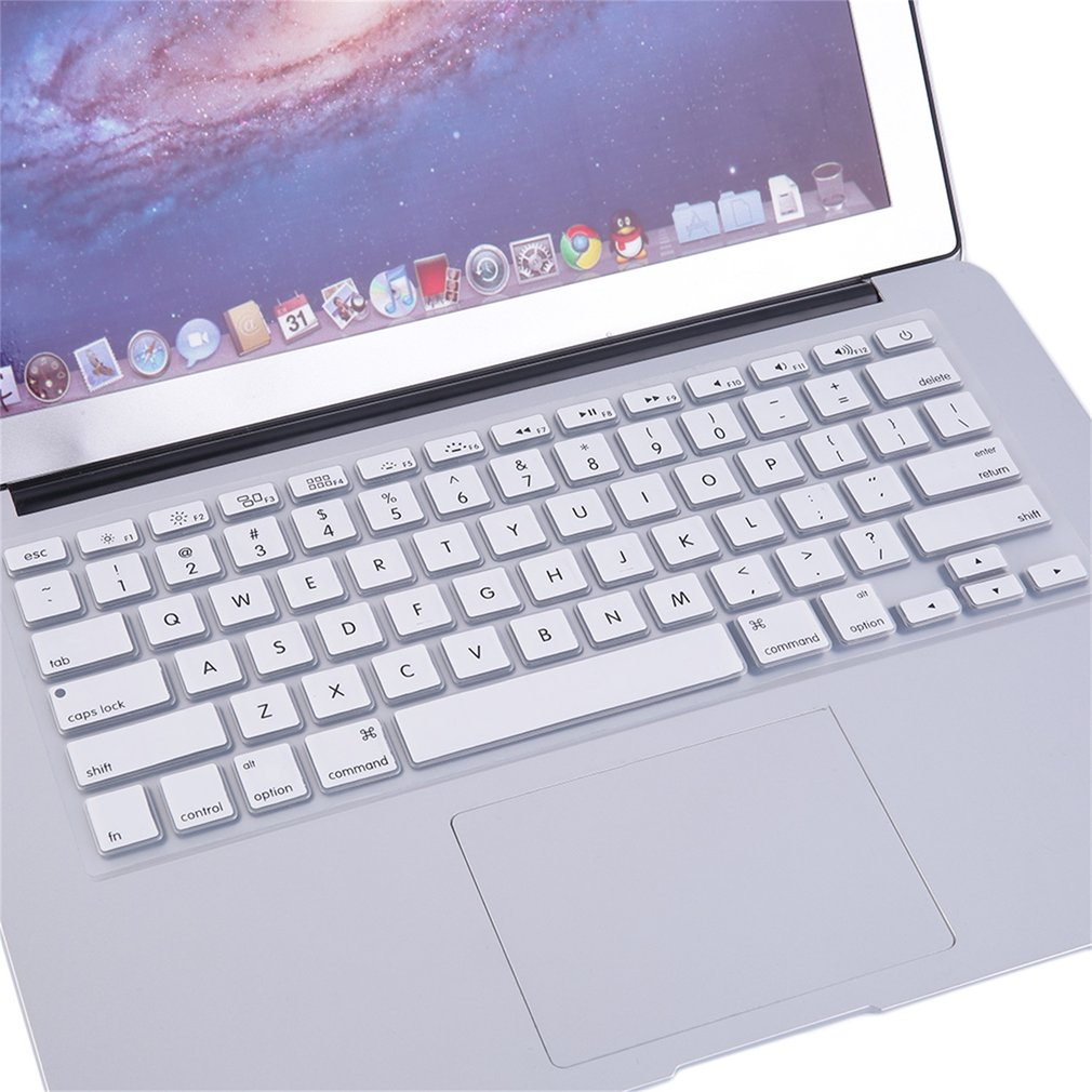 """LESHP Hot Durable Hard Rubberized Case + Keyboard Cover For MacBook Retina 12"""" White"""