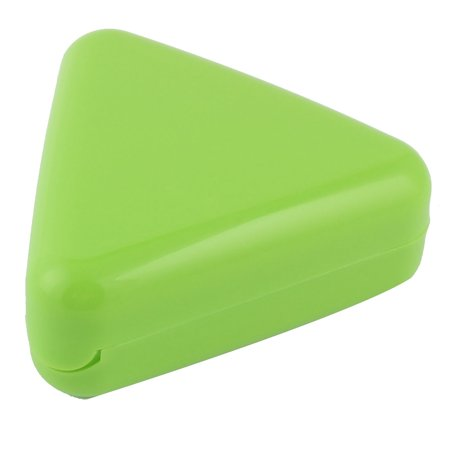 Kitchen Plastic Triangle Shaped Bento DIY Sushi Maker Rice Ball Mould Green
