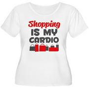 Women's Plus-Size Shopping Is My Cardio T-Shirt
