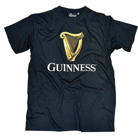 Black Guinness Harp T-Shirt - Guinness Halloween