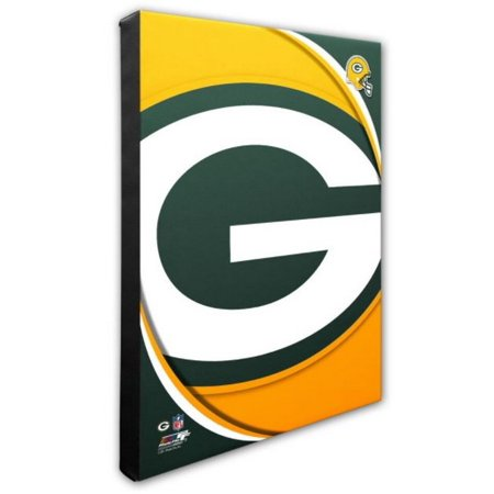 Nfl Hand Signed 16x20 Photograph - Photo File Green Bay Packers Team Logo Canvas Print Picture Artwork 16x20 NFL WI