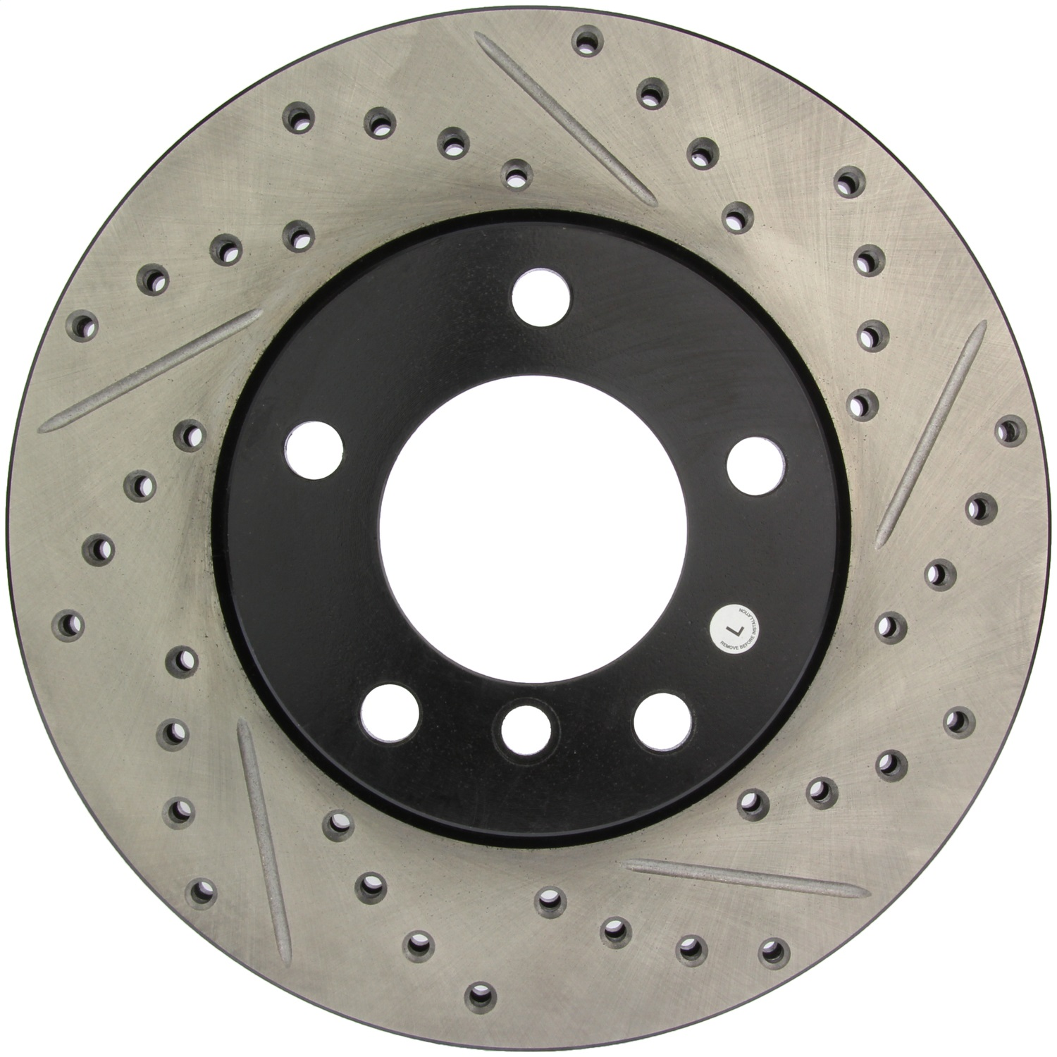 StopTech 127.34029L StopTech Sport Rotors; Drilled And Slotted; Front Left;11.26 in. Dia.; 2.05 in. Height;