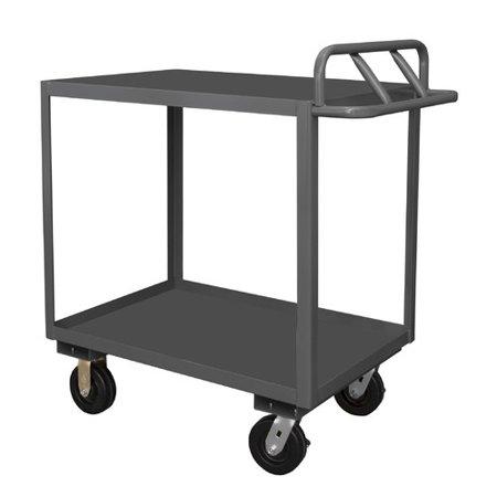 Durham Manufacturing Stock Utility Cart with Ergonomic ...
