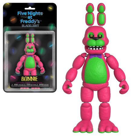 General Action Figure: Fnaf Blacklight - Bonnie (Fnaf 4 Halloween Update Trailer)