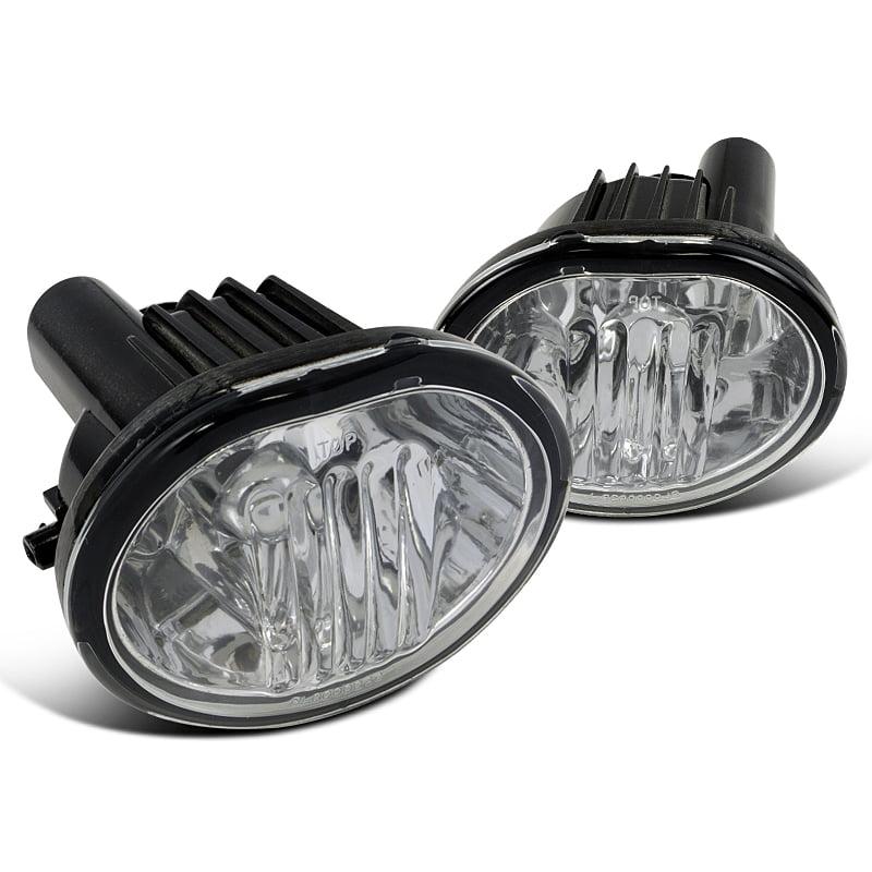 Spec-D Tuning 2003-2008 Toyota Matrix Pontiac Vibe Clear Lens Fog Lights Pair 03 04 05 06 07 08