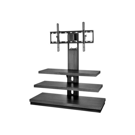 """Insignia - TV Stand for Most Flat-Panel TVs Up to 55"""" - Dark Brown"""