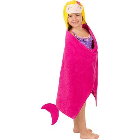 Kids' Hooded Towel, Mermaid](Hooded Mermaid Towel)