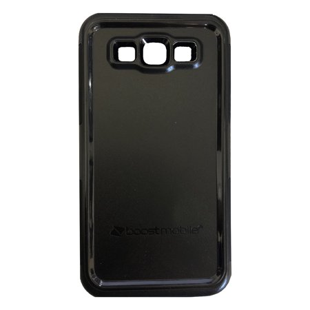 Boost Mobile B-Tact Case Dual Layer Protection for Samsung Galaxy J7 Perx (Boost Mobile Cases)