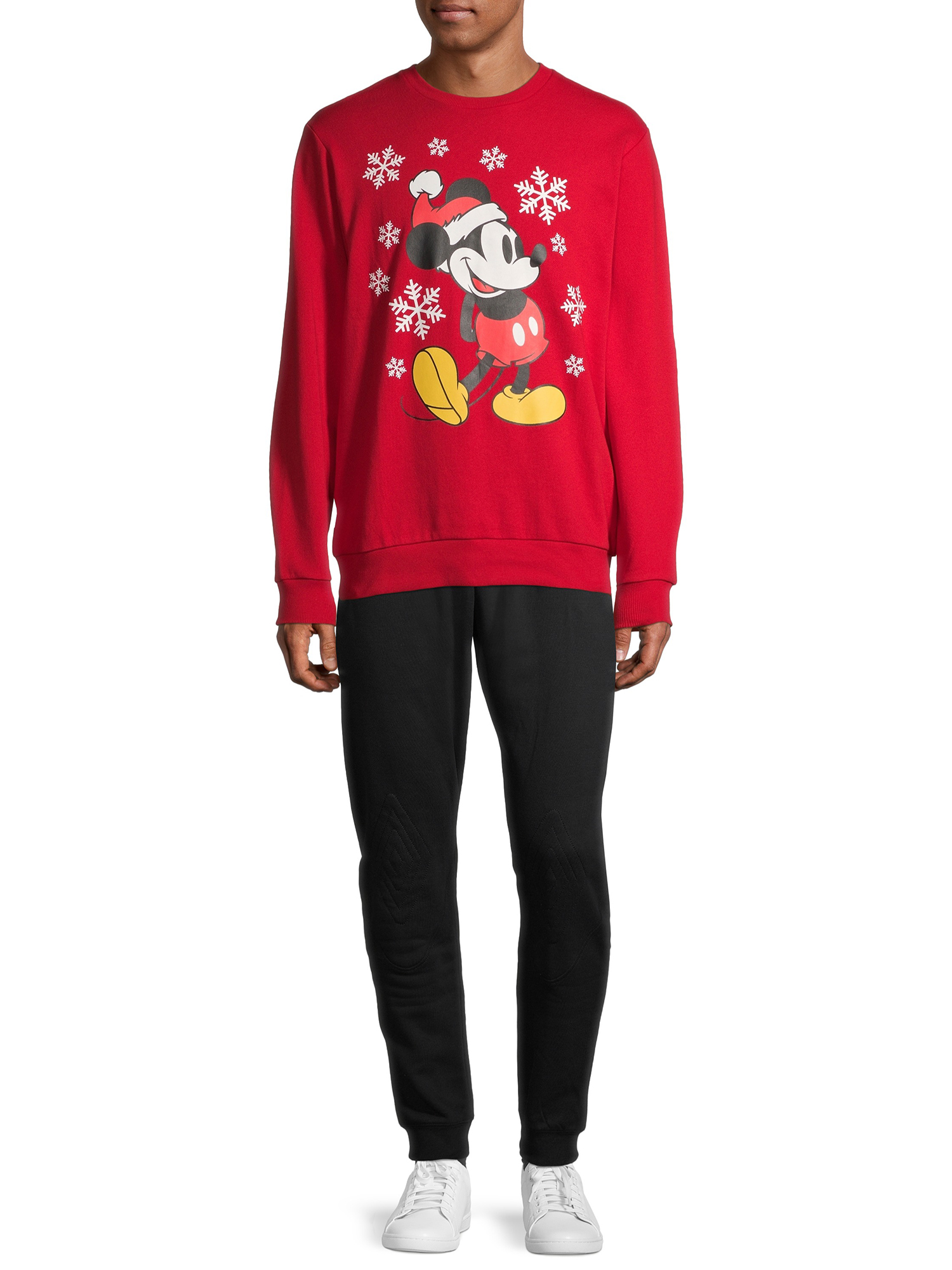 Details about  /Disney Mickey Mouse Christmas Snow Hoodie Pullover Men Women Unisex 4217