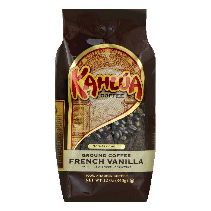 Kahlua Coffee French Vanilla Ground Coffee, 12 OZ (Pack of 6)
