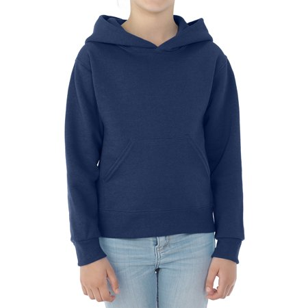 - Boys' Mid-Weight Fleece Hoodie Sweatshirt