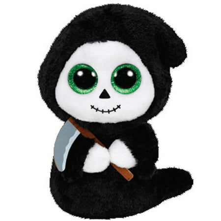 Ty Grimm the Ghoul Ghost Halloween Beanie Boos Stuffed Plush Animal Toy - Halloween Plush Toys