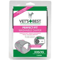 (Choose Size) Vet's Best Perfect Fit Washable Female Dog Diaper