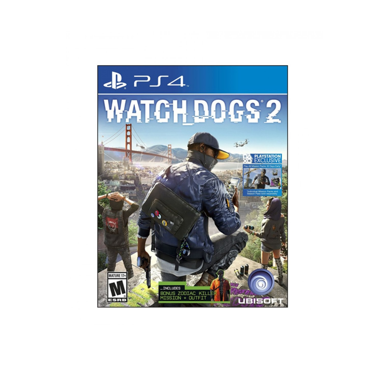 Watch Dogs 2 (Playstation 4) by UBI SOFT